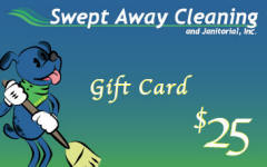 Swept Away Cleaning Gift Card
